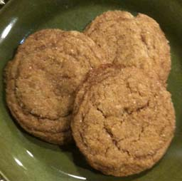 Crunchewy Ginger Cookies 1