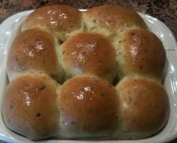 Herbed Bread Rolls 17