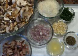 Mushroom Sauce misen