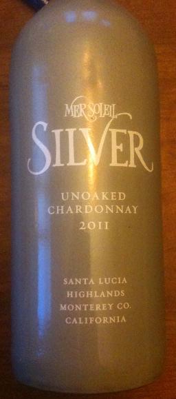 2011 Mer Soleil Unoaked Chardonnay