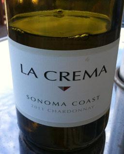 La Crema 2011 Sonoma Chard frt