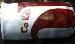 Coke Can Fondant Cake 1
