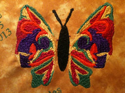 Final Digitized Butterfly