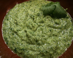 Chimichurrie sauce