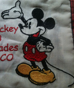 MIckey Quilt Label