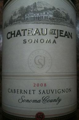 2008 Chateau St. Jean frt