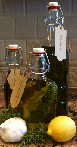 Flavor Infused Olive Oils