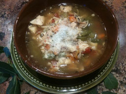 Mom's Sicilian Chicken Soup