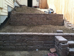 Terrace walls 1
