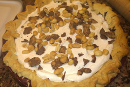 Chocolate Peanut Butter Pie 6