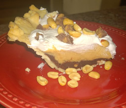 Chocolate Peanut Butter Pie 7