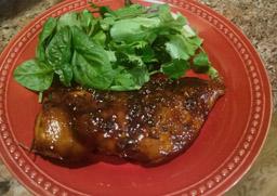 balsamic glazed pork chick