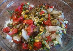 Grilled Veggie Salad 3