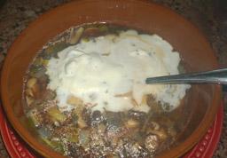 Mushroom Leek Soup 1