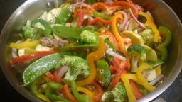 Sausage Veggie Frittata 1